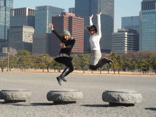 Celebrating in Japan