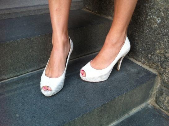 White Forever New Heels