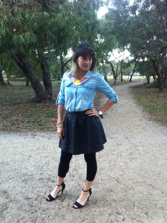 Valley Girl skirt